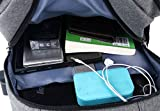 Akiimy Travel Backpack with USB Charging Port