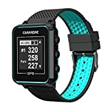 CANMORE TW-353 GPS Golf Watch - Black/Turquoise