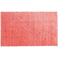 Chesapeake Merchandising 79205 Microfiber Shag Area Rug, 5 x 7, Coral