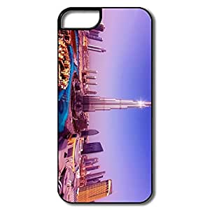 IPhone 5 5S Cases, Worlds Tallest Tower Burj Khalifa White/black Cases For IPhone 5