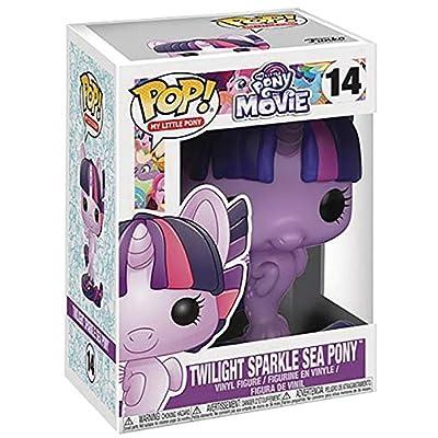 Funko My Little Pony The Movie - Twilight Sparkle Sea Pony Pop! Vinyl Figure (Includes Compatible Pop Box Protector Case): Toys & Games