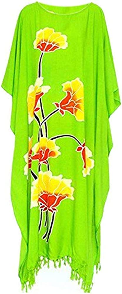 LOTUS Floral beach kaftan cool ladies long womens holiday summer flower plus new