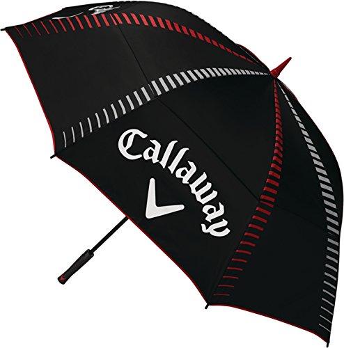 "Callaway Golf Tour Authentic 68"" Umbrella Umbrellas 2017 Tour Authentic 68"" Double Canopy Automatic Black"
