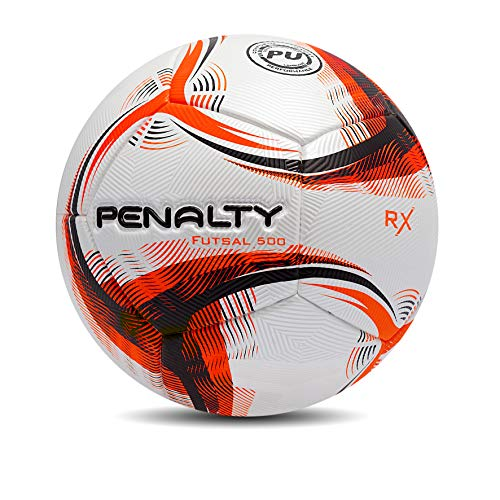 Bola Futsall Rx 500 Ix Penalty 64 Cm Laranja