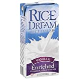 Rice Dream Rice Drink, Vanilla, 32 Ounce (Pack of 12)