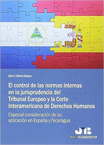 CONTROL DE LAS NORMAS INTERNAS EN LA JURISPRUDENCIA DEL TRIBUNAL: Byron G. Cárdenas Velásquez: 9788494774324: Amazon.com: Books