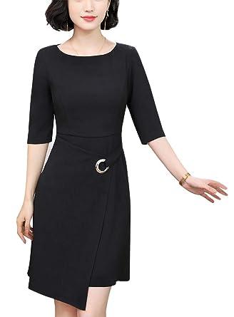 LISUEYNE - Traje de Vestir - para Mujer: Amazon.es: Ropa y ...