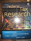 West's Federal Tax Research, Raabe, William A. and Sanders, Debra L., 032412385X