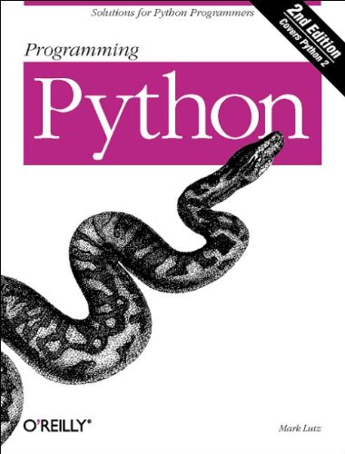 Programming Python, Second Edition with CD by Brand: O'Reilly Media