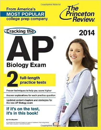 Amazon com: Cracking the AP Biology Exam, 2014 Edition