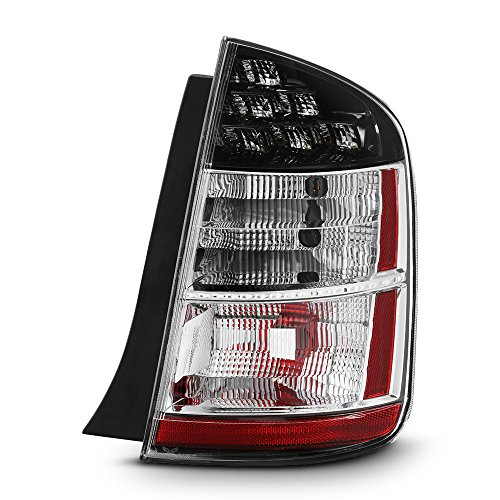 - ACANII - For 2004-2005 Toyota Prius LED Rear Replacement Tail Light - Passenger Side Only