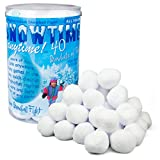 Toys : Indoor Snowball Fight SNOWTIME ANYTIME 40 pk