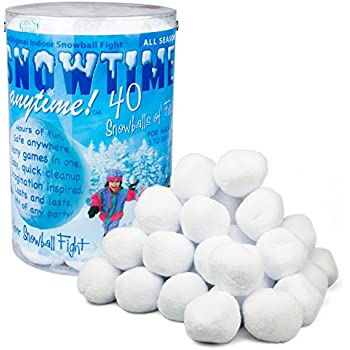Indoor Snowball Fight SNOWTIME ANYTIME 40 pk
