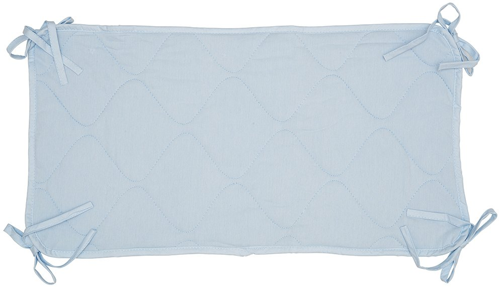 Abstract Quilted Porta-Crib Sheet Saver (24.5x13) (Blue) by Abstract   B00LKO6CF2