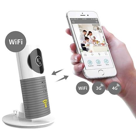 Clever dog cámara wifi inalámbrico para perros Soporte inteligente para monitores para bebés P2P Visión Nocturna