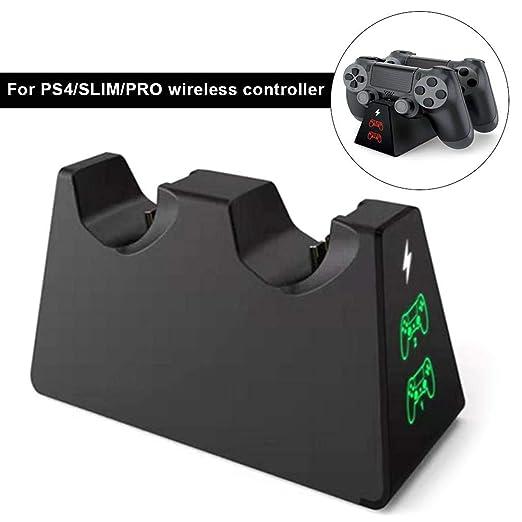 voloki Cargador del Controlador PS4, estación de Carga del ...