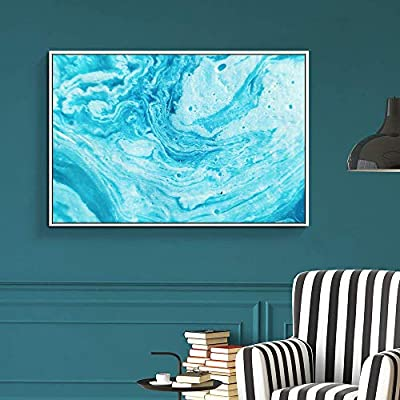 Alluring Work of Art, Floating Framed for Living Room Bedroom Abstract Colorful Painting for, Made With Top Quality