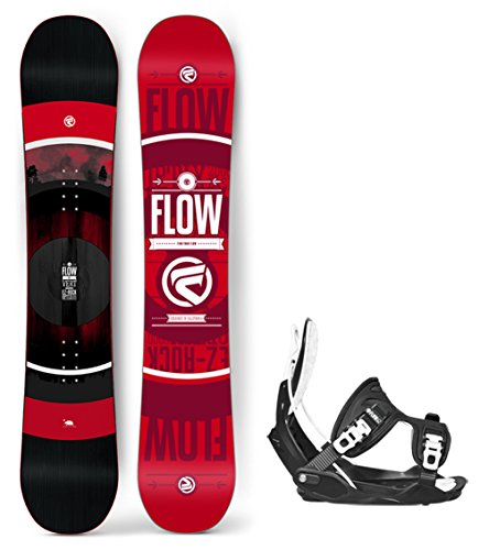 Flow 2019 Vert Men's Snowboard Alpha LTD Bindings - Board Size 158 (XL (11-15)) (Ltd Bindings)