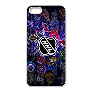 iPhone 5S Case,Hockey Nhl White Customized Phone Case For iPhone 5S