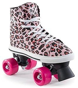 Rio Roller CANVAS Rollschuh 2016 pink leopard 32