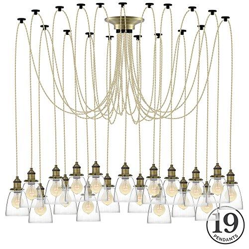 Oversized Industrial Pendant Light - 7