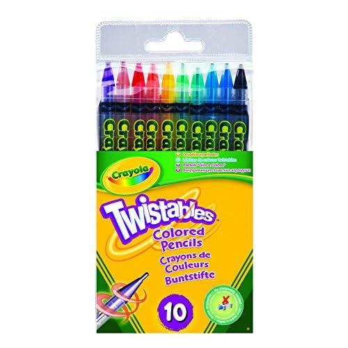 Crayola Loisir Créatif - 10 Crayons De Couleur Twistable
