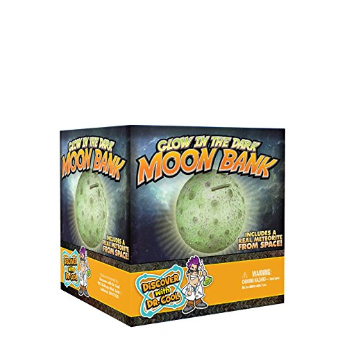 Glow in the Dark Moon Coin Bank