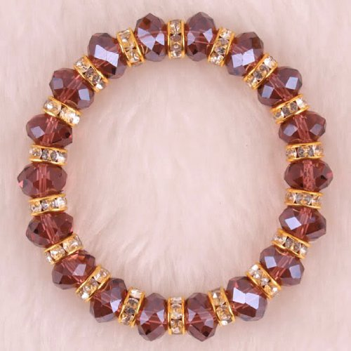 Crystal Abacus faceted Loose beads 7