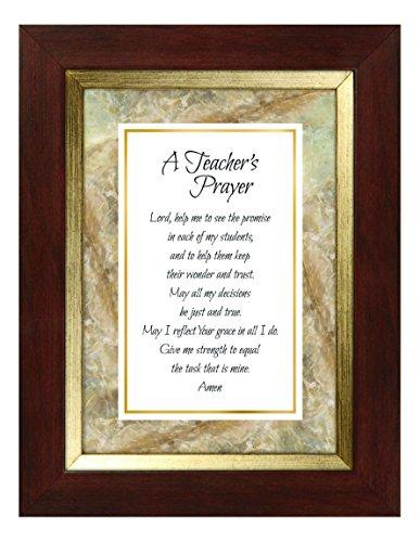CB Gift Meaningful Moments Teacher Prayer Framed Print (Framed Teacher)