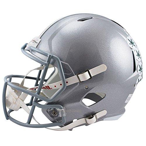 Ohio State Helmet - Riddell Ohio State Buckeyes Officially Licensed NCAA Speed Full Size Replica Football Helmet