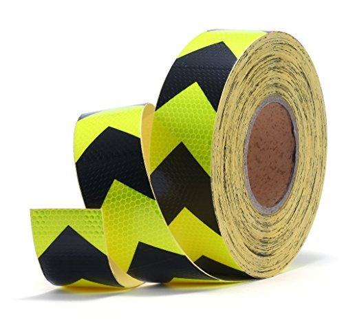yellow-and-black-arrows-industrial-honeycomb-reflective-tape-2x50-hazard-warning-caution-outdoor-mar