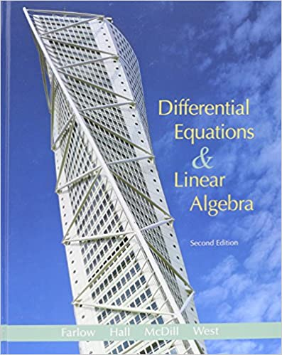 differential equations and linear algebra solutions