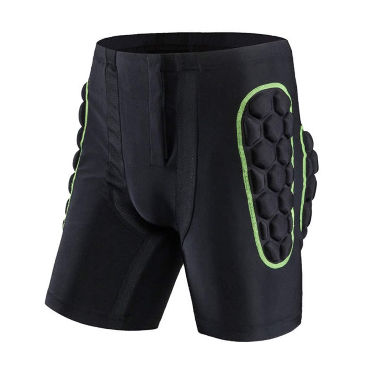 3D Ski Padded Protection Shorts,Protective Hip Gear Breathable Lightweight for Skate Snowboard Skating Skiing for Men /& Women