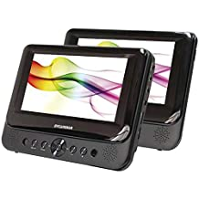 SYLVANIA SDVD8739 7-Inch Dual-Screen Portable Dvd Player