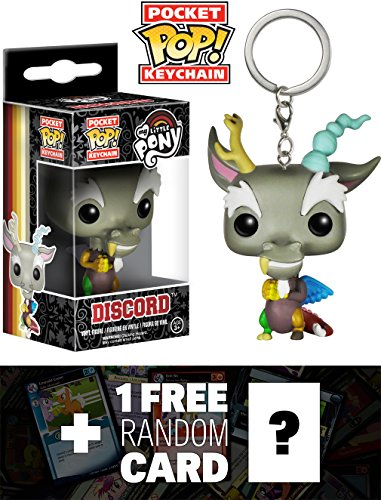 Discord: Pocket POP! Keychain x My Little Pony Vinyl Figure + 1 (Little Uglydoll Keychain)