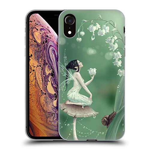 Official Rachel Anderson Lily of The Valley Pixies Soft Gel Case for iPhone XR ()