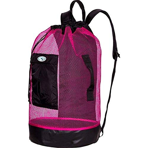 (Stahlsac by Bare Panama Mesh Backpack (Black/Pink))