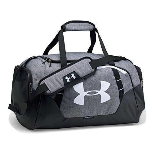 Under Armour Undeniable Duffle 3.0 Gym Bag, Graphite (041)/White, Small