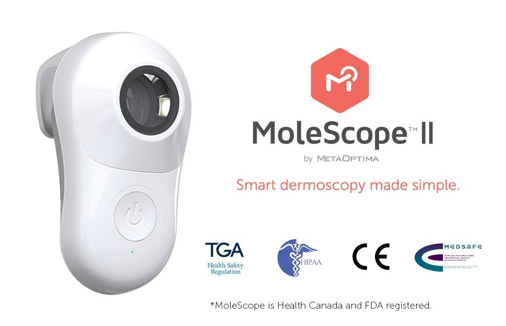 MoleScope II (Professionals) - Smartphone Attachable Dermoscope for iPhone 5