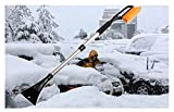102cm Multifunction Retractable Snow Brush with Ice Scraper Garden Car Snow Removaling Shovel Tool by Micro Shops