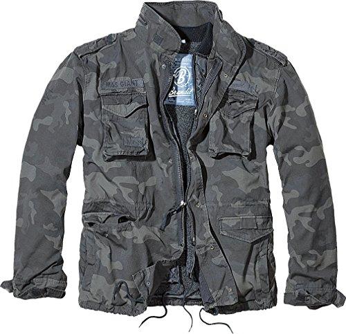 Lining M-65 (Brandit Men's M-65 Giant Jacket Dark Camo Size XL)