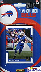 Buffalo Bills 2017 Donruss NFL Football Factory Sealed Limited Edition 11 Card Complete Team Set with Tyrod Taylor, Zay Jones RC, Legend Bruce Smith & Many More! Shipped in Bubble Mailer! WOWZZER!