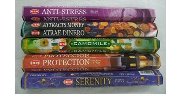 Amazon.com: Hem Best Seller Incense Stick Set #4: Top 5 x 20 ...