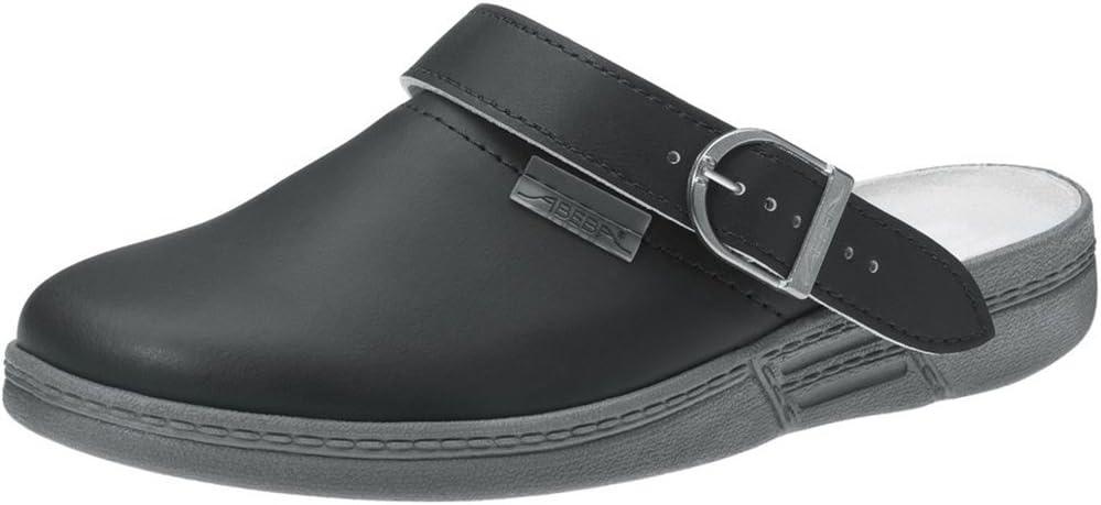 Abeba 7031-36 Size 36 The Original Occupational-Clog Shoe Black