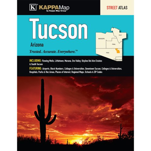 Tucson, AZ Street Atlas