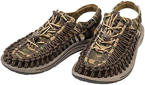 メンズ 男性用 シューズ 靴 サンダル フラット Uneek - Camo/Dark Olive [並行輸入品]