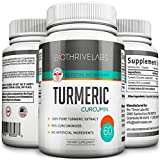 Product review for Biothrive Labs Best Turmeric Curcumin Supplement With BioPerine® - 95% Curcuminoids - 60 Caps