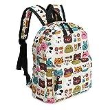 Kid Book Backpack Baby Child School Bag Kindergarten Canvas Daypack Cartoon Coin Purse