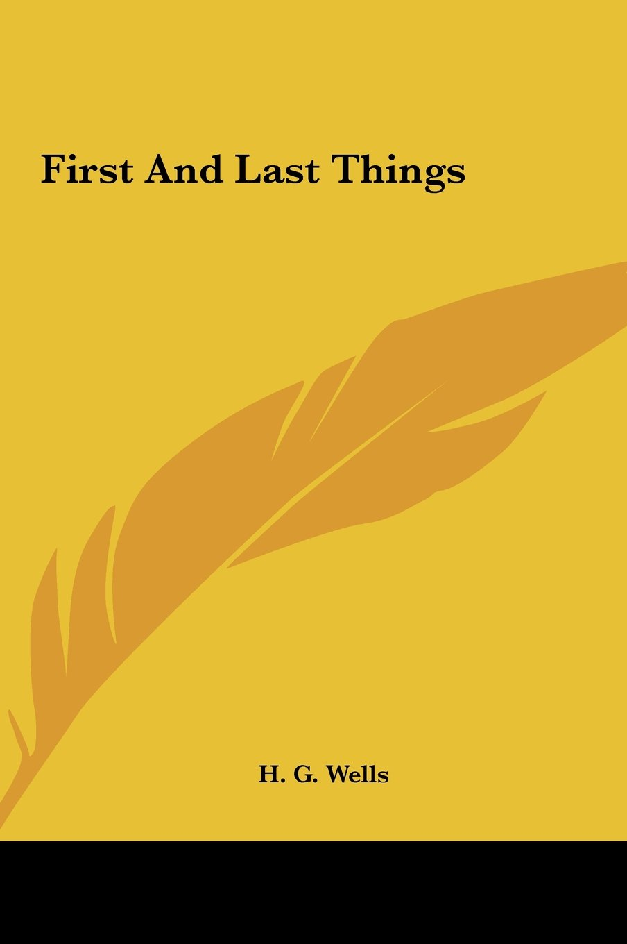 First and Last Things ebook