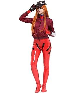 Amazon.com: Evangelion cosplay shikinami Asuka Langley ...